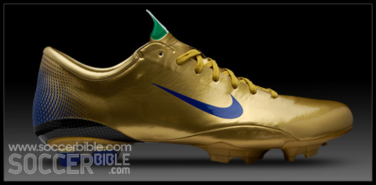 ef649c95e ... cheap these rare italy gold blue nike vapor iii boots were made in  celebration of italy