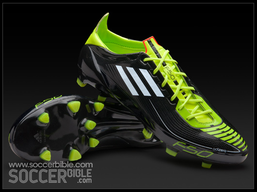 adidas f50 adizero football boots - black/black/warning