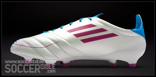 adidas f50 white pink