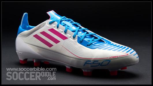 adidas f50 adizero cyan white pink