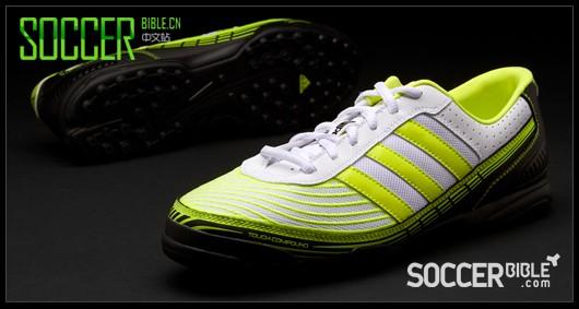 adidas adi5 Turf Football Trainers - White/Electricity/Black