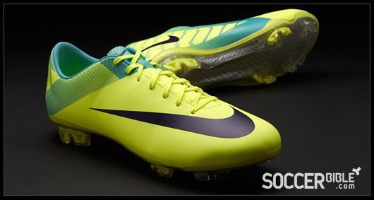 the new volt purple retro nike vapor vii soccer shoes are set to take nike mercurial
