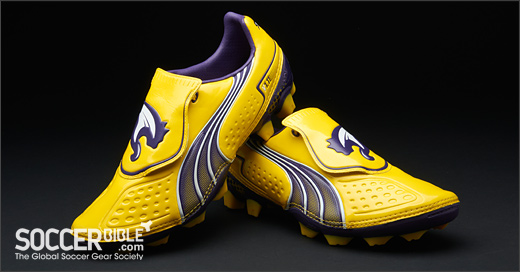 promo code 016ff a4a94 Dresden Blue - Uksoc The new YellowPurpleWhite Puma v1.11 football boots  have already made their professional debut on ...