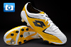 Lotto Fuerzapura II L100 Football Boots - White/Cyber Yellow