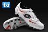 Lotto Fuerzapura II 100 Football Boots - White/Red