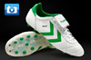 Hummel Old School Star Football Boots - White/Green