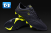 Pele Sports Trinity 3E Football Boots - Black/Yellow