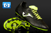 Joma Total Fit Ultralight Football Boots - Black/Lime/White