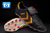 Hummel 86 Gold Football Boots - Black/Gold/Red