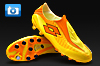 Lotto Zhero Gravity 100 Football Boots - Yellow/Orange