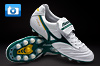 Mizuno Morelia Football Boots - Pearl/Green/Yellow