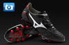 Mizuno Morelia Neo Football Boots - Black/White/Red
