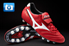 Mizuno Morelia Football Boots - Red/White/Black