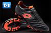 Lotto Stadio Potenza Football Boots - Black/Orange