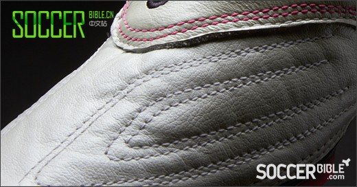 Puma v1.11 袋鼠皮版足球鞋 白/海军蓝/粉