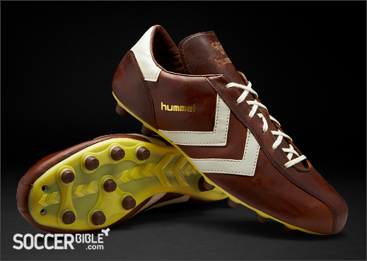 Hummel Roma Vintage Football Boots - Dark Cognac