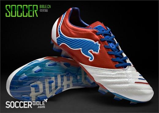 Puma PowerCat 1.12 SL 白/红/蓝