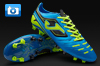 Joma Power Football Boots - Navy/Lime
