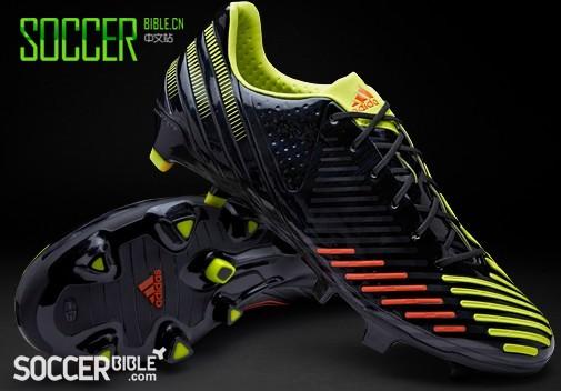 adidas Predator LZ SL Football Boots - Black/Electricity/Infrared