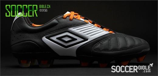 Umbro Geometra Pro Football Boots - 黑/白/橘