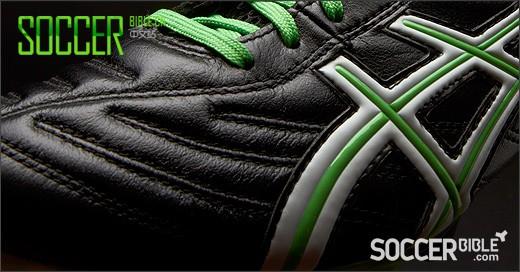 Asics Lethal Tigreor 5 Football Boots - Black/White/Green