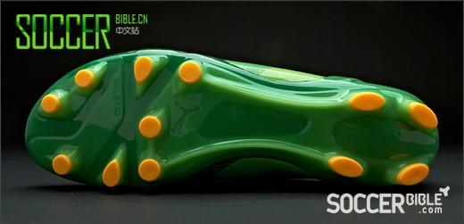 当闪电击中雷鬼节拍,彪马EvoSpeed 1 Cedella Marley特别款 足球鞋-绿/黑/橙