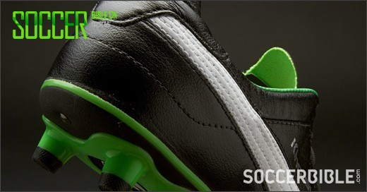 Puma King Finale SL Football Boots - Black/White/Green