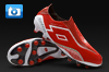 Lotto Zhero Gravity II 100 Football Boots - Risk Red/White