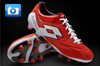 Lotto Fuerzapura III 100 Football Boots - Red/White