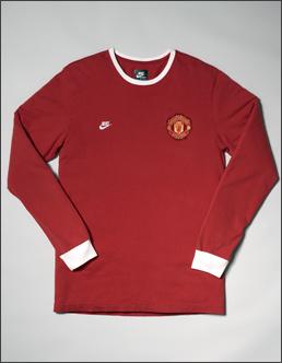耐克推出以曼联7号为灵感的复古系列服装