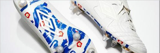 乔治足球公园特刊: 经典英格兰专属限量版战靴 - 足球战靴