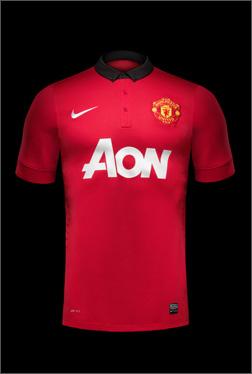 曼联发布2013/14赛季主场球衣- 足球新闻
