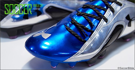 Under Armour Blur CBN III 球鞋- 宝石蓝/耀眼银