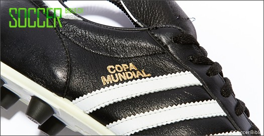 The first adidas Copa Mundial LE arrived in early 2007 as the brand acknowledged 25 years of their most decorated boot. The boot was marked with gold Copa