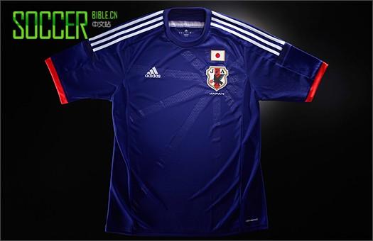 s发布日本国家队2014年世界杯球衣图片