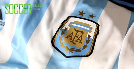 adidas发布阿根廷国家队2014年世界杯球衣