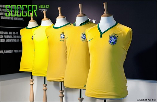 回顾:伦敦Nike巴西球衣发布活动