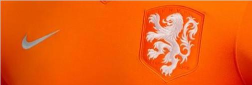 这个放大的白色狮子图案意味着荷兰足球的一个新时代以及荷兰国家队中