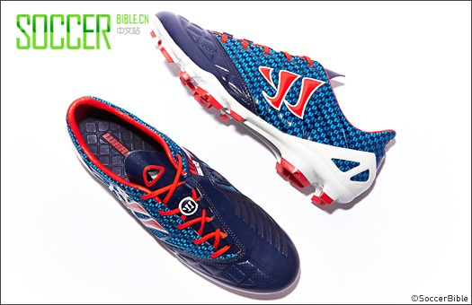 Warrior Gambler Pro Football Boots - Blue/Red - Football Boots