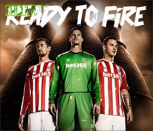 Warrior Reveal Stoke City 2014/15 Kits - Football Shirts