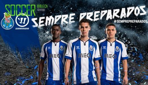 Warrior Reveal 2014/15 Porto Home Shirt : Football Apparel : Soccer Bible