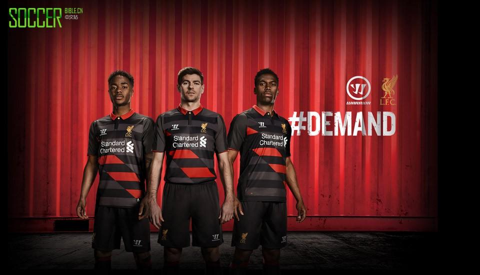 Warrior Reveal Liverpool 2014/15 Third Kit : Football Apparel : Soccer Bible