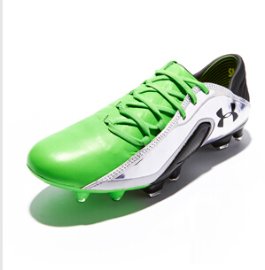 Under Armour Blur Carbon III Leather - Poison/Silver/Black : Football Boots : Soccer Bible