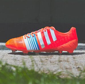 "adidas Nitrocharge ""Infrared/Metallic Silver/White"" : Football Boots : Soccer Bible"