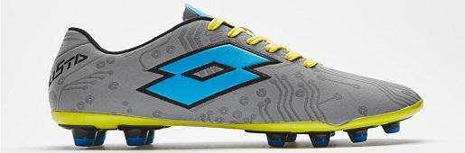 乐途发布银/浅蓝配色Stadio Solista IV足球鞋