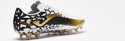 "Joma Champions Cup ""White/Black/Gold"" : Football Boots : Soccer Bible"
