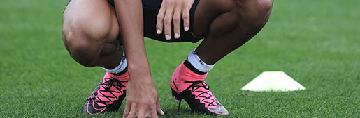 Sanchez Trains In Leather <font color=red>Superfly</font> IV : Boot Spy : Soccer Bible