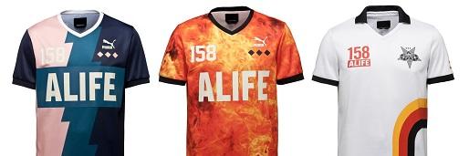 彪马与ALIFE合作推出的2016春装