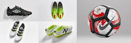 二月份发布足球装备一览