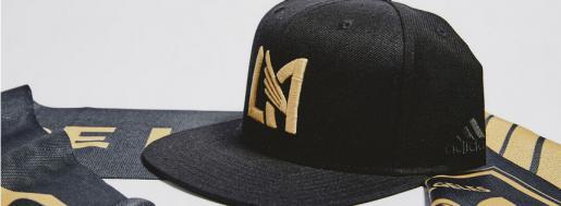 LAFC--帽子和围巾系列
